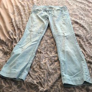 American Eagle Outfitters Jeans - American Eagle Light Blue, Favorite Boyfriend